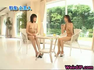Asian Girl Is Nude On Educational Part5