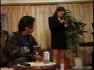 Drunk Asian Schoolgirl Getting Her Pussy Part5