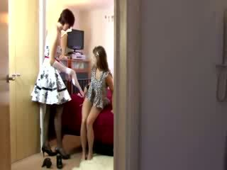 Mature stocking british lesbian oral