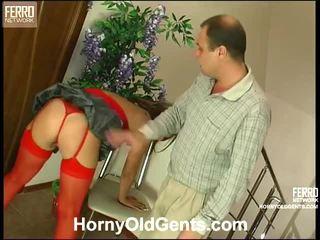 Jaclyn And Hubert Oldman Xxx Action