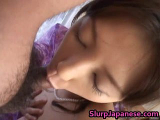 RiRika Hawt Japanese Bitch Sucks A Penis