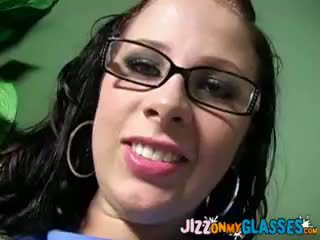 Gianna And Kylie Worthy Share Black Jizz On Their Glasses