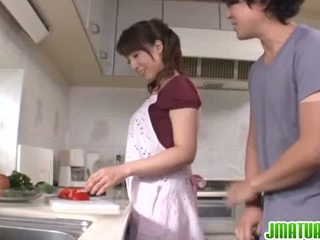 Housewife Sayuri Ikuina Gets Nailed Hard