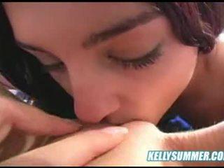 Kelly Summer lesbian scene