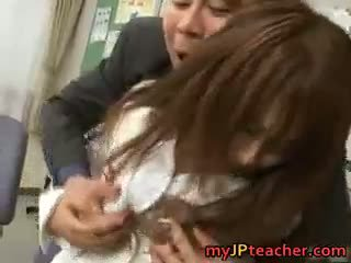 Megu Ayase Lovely Asian Teacher Part1
