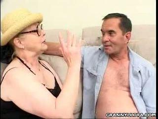 Gangbanged Hot Granny