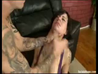 Facial Abuse Vanessa Naughty
