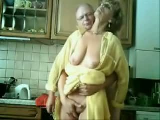 Granny Fingered By An old Fart