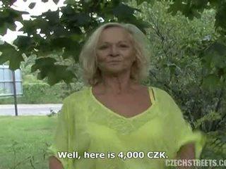Czech Mature Outdoor