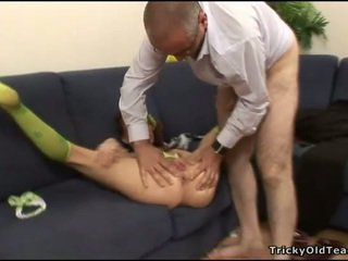 Succulent pounding of a hot twat