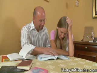 Marvelous Coed Pleases Her Immoral TeaCher.