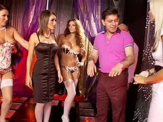 Gemma Massey's strip club orgy