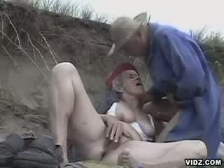 Granny longs for dong inside her cunt