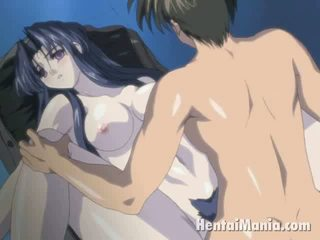 Sublime Anime Seductress Getting Succulent Cookie Fingered Through Panties