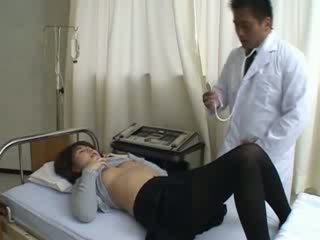 doctor asshole fucked his patient hard
