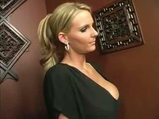Sexy Blonde Mom GloryHole Blowjob Video
