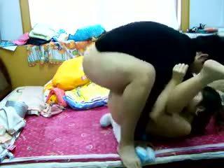 Nice Horny Amateur Asian Couple Video