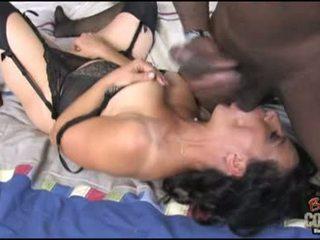 Concupiscent Melissa Monet Bounces Her Vagina On A Biggest Prick