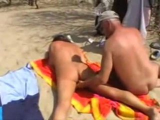 Michel Steuve Naked On The Beach