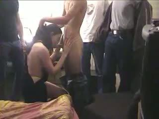 Israeli Milf Yael In A Gangbang