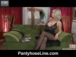 Stocking Sex Porn Movs From Pantyhose Line