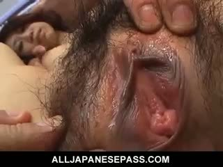 Busty Asian MILF In A Bikini In Hardcore DP Action