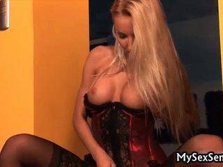 Horny Vanessa Gold Masturbating