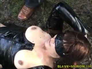Amateur Whore Pissed On in Public