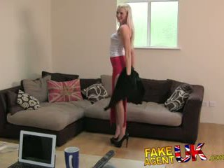 FakeAgentUK Second dose of blowjobs, rimming and fucking for Tall dirty blonde