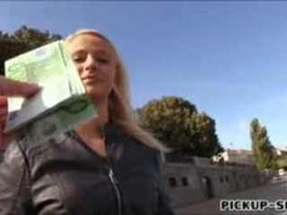 Real Amateur Eurobabe Monika Drilled For Some Money
