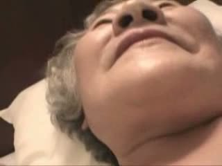 Old Japanese granny