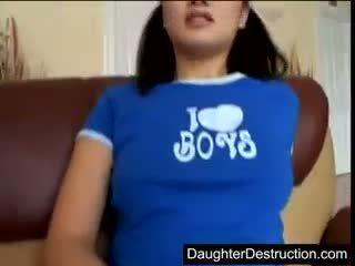 Cute Teen Daughter Black Cock Stuffed In Her Virgin Ass