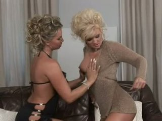 Blond Babe Francesca Felluci Getting Wicked On Her Girlfriend's Hot Milk Shakes
