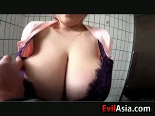 Asian With Large Natural Breasts