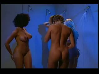 4 way lesbian orgy in a shower
