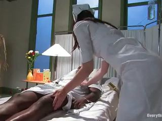 Two Dissolute Nurses Have Impaled Rough By Cocoa Lad