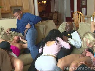 Vegas Orgy Group BBC Action