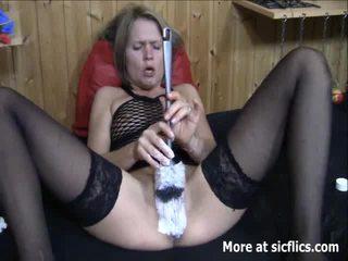 INSANE Twin Fist Shafting AND TOILET BRUSH Shag