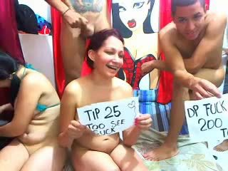 Group orgy cam