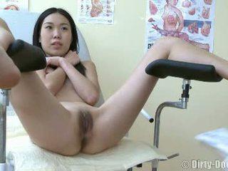 Nervous Asian Teen At Hopistal