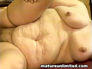 Old bag gets pounded mature