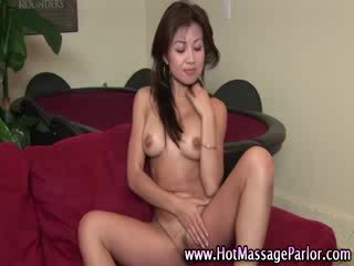 Dirty horny asian masseuse