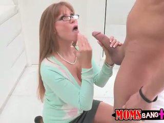 Sexy busty stepmom Darla Crane gets her ass fucked