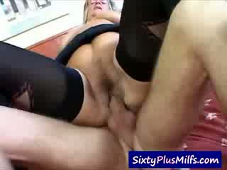 Granny prefers a real Cock not a toy