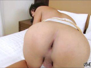 Sweet ladyboy vixen Katie masturbates