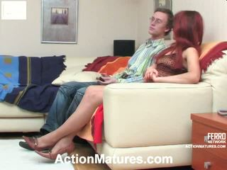 Alana And Tobias Marvelous Mom Onto Video Action