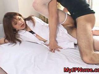 Ai Niimura Sleaze Asian Nurse Appreciates Her Man