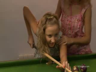 lezzie revenge on the billiards