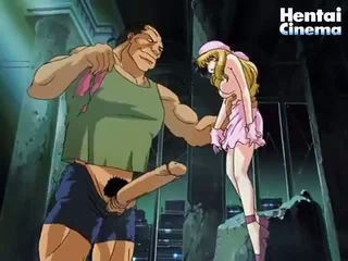 Petite Anime Playgirl Gets Her Tits Fucked By This Big Muscular Stud