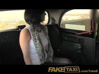 FakeTaxi Horny daddies girl loves the cock
